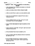 Como agua para chocolate - Capítulo 4 - Preguntas de comprensión