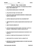 Como agua para chocolate - Capítulo 5 - Preguntas de comprensión