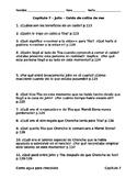 Como agua para chocolate - Capítulo 7 - Preguntas de comprensión
