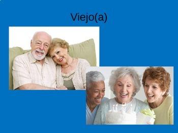 Como eres PowerPoint Spanish Descriptive Adjectives Physical Traits PPT