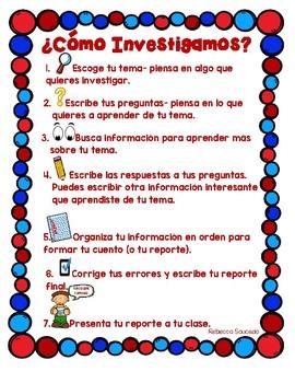 How to Write a Research Report(Spanish)Como escribir un Reporte de Investigacion