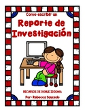How to Write a Research Report Spanish)Como escribir un Re