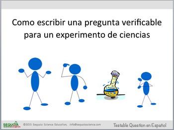 Como escribir una pregunta verificable  (Scientific Method en Español!)