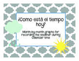 Como esta el tiempo hoy? Weather Bar Graphs in Spanish