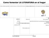 Como fomentar la Literatura en el Hogar / Fostering Readin