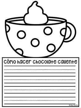 Cómo hacer chocolate caliente NO PREP Writing Craft