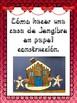 Cómo hacer una casa de jengibre en bolsa de papel o en papel construcción
