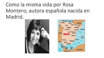 Como la vida misma escrito por Rosa Montero
