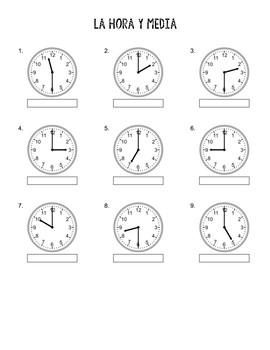 Cómo leer la hora