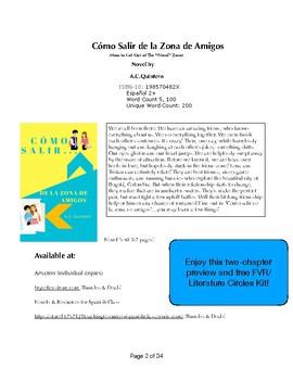 Cómo salir de la zona de amigos FVR/Literature Kit -12 Activities