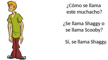 Como se llama Circle - nombre - Te llamas- What's his/her name - Spanish - TPRS