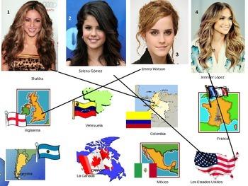 ¿Cómo se llama? ¿De dónde es?  with Celebrities!