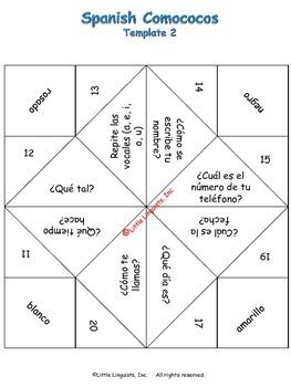 Comococos/Spanish Fortune Teller
