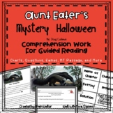 Aunt Eater's Mystery Halloween Comprehension Work (A Book Companion)