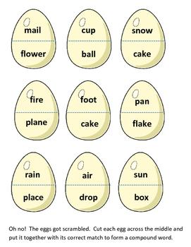 Comound Word Eggs