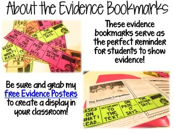 Comp Files: Practice Passages for Showing Text Based Evidence (January)