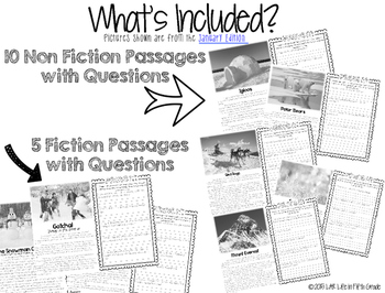 Comp Files: Practice Passages for Showing Text Based Evidence (April)