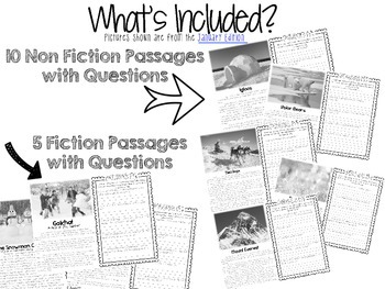 Comp Files: Practice Passages for Showing Text Based Evidence (Aug/Sept)