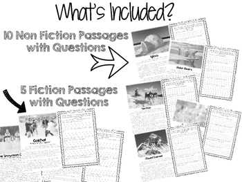 Comp Files: Practice Passages for Showing Text Based Evidence (February)