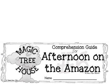 Comp Guide for the book with a HOUSE in a TREE that is MAGIC BOOK 6