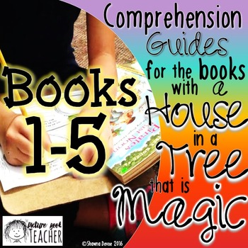 Comp Guides for the books with a HOUSE in a TREE that is MAGIC BOOKS 1-5