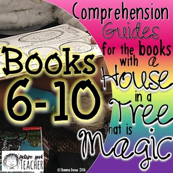 Comp Guides for the books with a HOUSE in a TREE that is MAGIC BOOKS 6-10