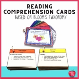 Reading Comprehension Cards Based on Bloom's Taxonomy