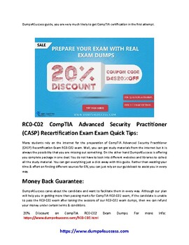 CompTIA RC0-C02 Exam Questions [2019] - Pass In First Attempt