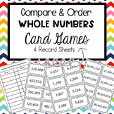 4th and 5th Grade Compairing and Ordering Games