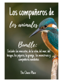 Compañeros de animales Partner Sheets- Bundle
