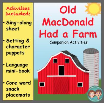 Companion Activities for Old MacDonald Had a Farm