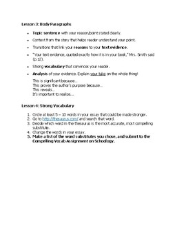 Companion Book Chapter 1 Instructions/Models