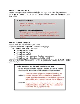 Companion Book Chapter 2 Instructions/Models