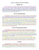 Companion Book Sample Essay - Compare/Contrast