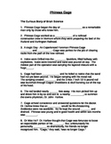 Companion Cloze sentence Worksheet For Phineas Gage Powerpoint