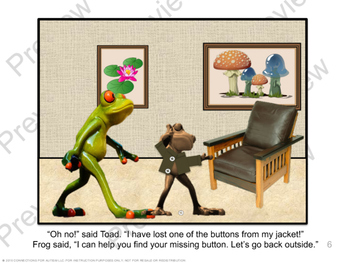 """Companion Materials for """"Frog and Toad: A Lost Button"""""""