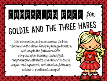 """Companion Pack for """"Goldie and the Three Hares"""""""
