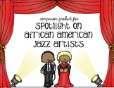Companion Product for Spotlight on Jazz Musicians