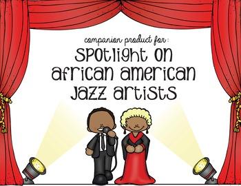 Companion Product for Spotlight on Jazz Musicians