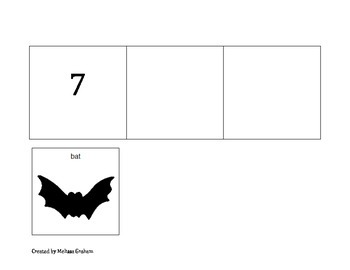 Companion Sequencing Visuals: There was an Old Lady who Swallowed a Bat