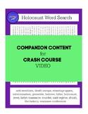 Companion Worksheet CRASH COURSE Holocaust Video