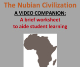 Companion Worksheet for Video: The Nubian Kingdom of Africa, Ancient History