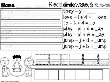 KinderGarden: Companion to EASY What I do at School Easy Readers