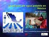 AP Spanish Comparación Cultural: Escasez de agua potable en México. Oral Present