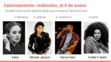 Comparaciones - Artistas de música (Comparisons - Musical