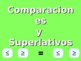 Comparaciones y Superlativos