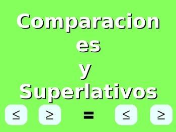 Comparaciones y Superlativos