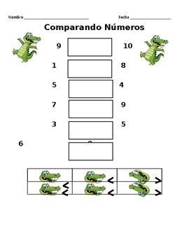 Comparando Numeros (SPANISH)