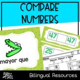 Comparando Números (Compare Numbers) SPANISH