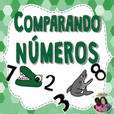 Spanish Comparing Numbers Poems & Activities with Boom Cards™